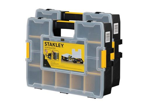 Stanley Tools Sortmaster Organiser Twin Pack STA195839