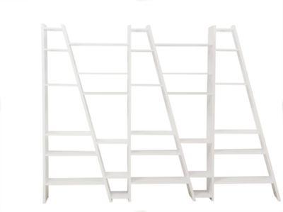 Tema Home Delta 005 Bookcase - Pure White