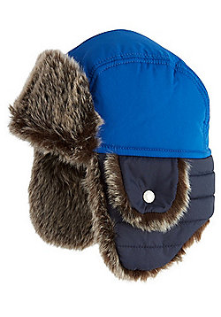 "F&F Ski Trapper Hat with 3M Thinsulate""™ - Blue"