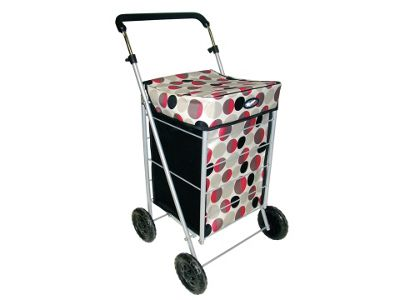 Marketeer Star Shopping Trolley, Dots