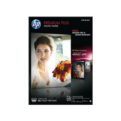 HP Premium Plus Semi-gloss Photo Paper 20 A4