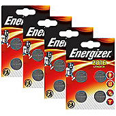 16 x Energizer CR2016 3V Lithium Coin Cell Battery 2016