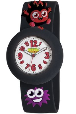 Peers Hardy Diavlo Moshi Monsters Watch With Charms Black