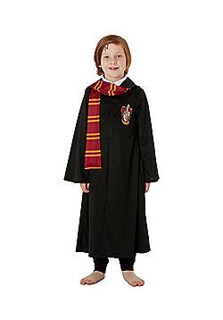 Warner Bros. Harry Potter Gryffindor Robe Fancy Dress Costume - Black