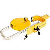 """Vehicle Security Wheel Clamp - Folding Design (Fits 13""""-17"""""""" Wheel Sizes)"""""""