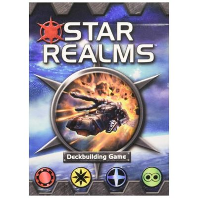 White Wizard Games Star Realms Deck Building Game Base Set D6 Board Game