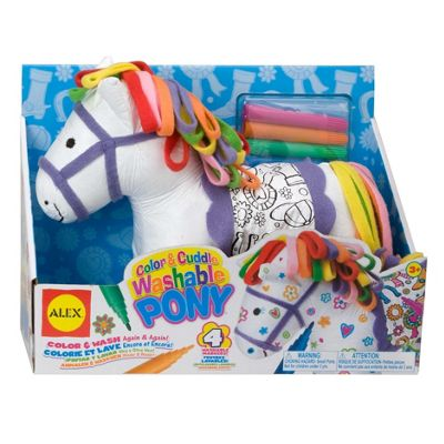 Colour And Cuddle Pony