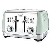 Breville VTT768 Strata 1650w 4 Slice Toaster in Green