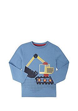 F&F Digger Long Sleeve T-Shirt - Blue