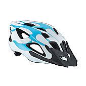 BBB BHE-49 - Solo Helmet (White & Blue, 52-58cm)
