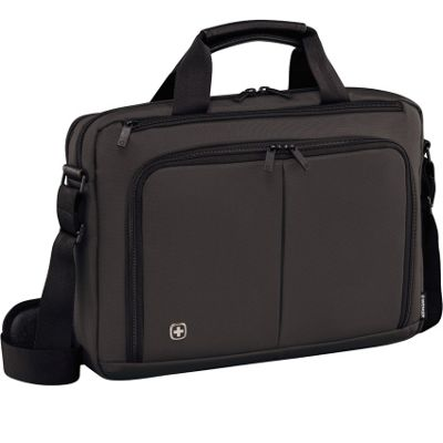 Wenger 601065 Source 14 inch Laptop Briefcase Grey