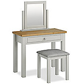 Farrow Painted Dressing Table Set