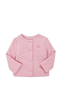 F&F Elephant Applique Padded Jersey Cover-Up - Pink
