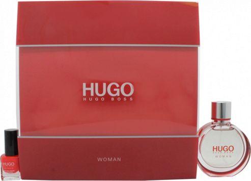 Hugo Boss Hugo Gift Set 30ml EDP + 4.5ml Nail Polish in Red For Women