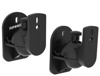 Duronic SPS1010 set of 2 universal wall speaker mount / brackets