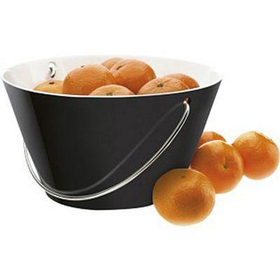 Eva Solo 2.5L Porcelain Oven Proof Bowl with handle, Black
