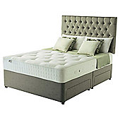 Rest Assured Double Divan Bed with 4 Drawers, Pocket 1400