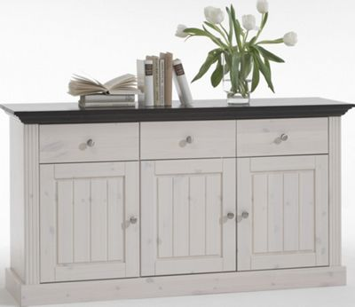 Home Essence Riviera 3 Door 3 Drawer Sideboard