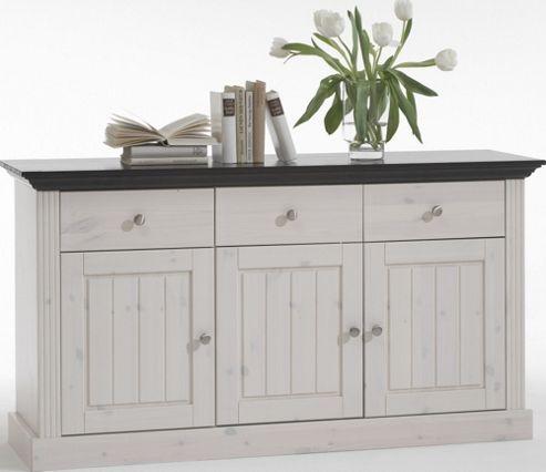 Home Essence Riviera 3 Door 3 Drawer Sideboard