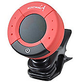 Rocket Digital Clip-On Tuner - Red and Black