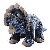 """Gund Diesyl 14"""" Triceratops Soft Toy"""