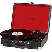 Denver VPL-120 Black Vinyl Record Player
