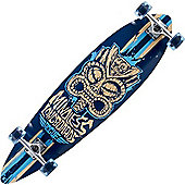 Mindless Longboards ML1120 Blue Tribal Rogue II Complete Longboard