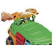 Turtles Half-Shell Heroes Party Wagon Vehicle With Donnie Figure