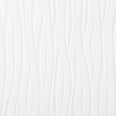 Superfresco Paintable Wavy Lines Wallpaper