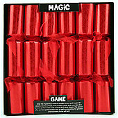 Kuckoo Krackers Christmas Crackers - Magic Game - 12 Inch - 12 Pack