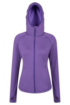 Mountain Warehouse EXCEL WOMENS HOODED MIDLAYER WITH FULL ZIP