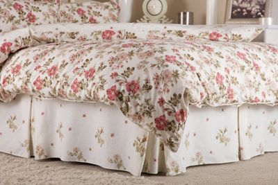 Belledorm Wild Rose Country Dream Fitted Valance Sheet - Single