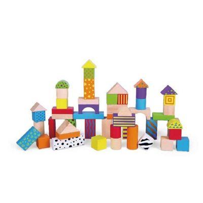 Viga Wooden 50 Piece Blocks