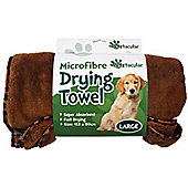 Large Microfibre Pet Drying Towel