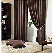 Alan Symonds Madison Pencil Pleat Curtains - Chocolate