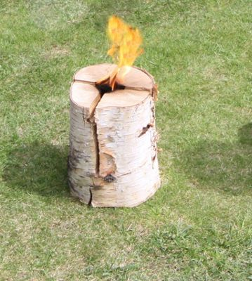 Swedish torch, birch, small