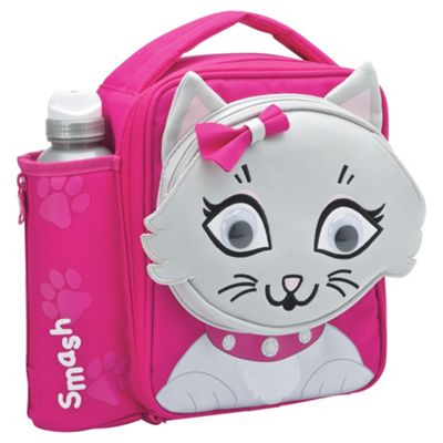 buy smash cat 3d lunch bag and bottle from our lunch bags. Black Bedroom Furniture Sets. Home Design Ideas