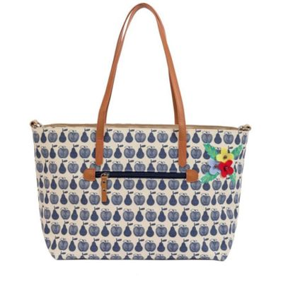 Pink Lining Notting Hill Tote Changing Bag (Apples & Pears)