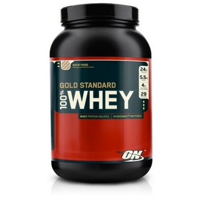 Optimum Nutrition 100% Whey Protein 908g - Rocky Road