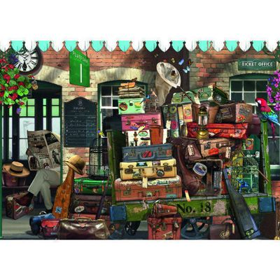 At the Station - 500pc Puzzle