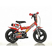 Disney Pixar Cars 12inch Balance Bike Red - DINO Bikes