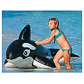 "INTEX 76"" x 47"" Whale Ride-On Inflatalbe"