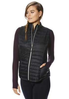 F&F Active Quilted Gilet Black 10