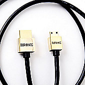 Duronic HDAC/2 - High Speed Mini HDMI to HDMI Cable 2M Digital Cameras | Camcorders | MP4 players | HDMI devices