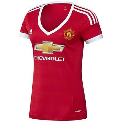 2015-2016 Man Utd Adidas Womens Home Shirt