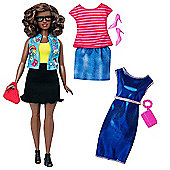 Barbie Fashionistas Emoji Fun Doll with Fashion Outfits