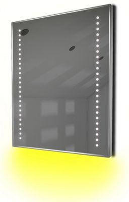 Ambient Shaver LED Bathroom Illuminated Mirror With Demister Pad & Sensor K55sy