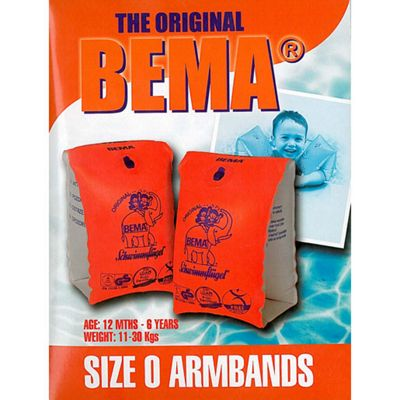 BEMA Armbands Size 0 - 12 Months to 6 Years