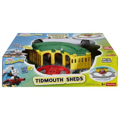 Buy Thomas & Friends Adventures Tidmouth Sheds Playset from our ...