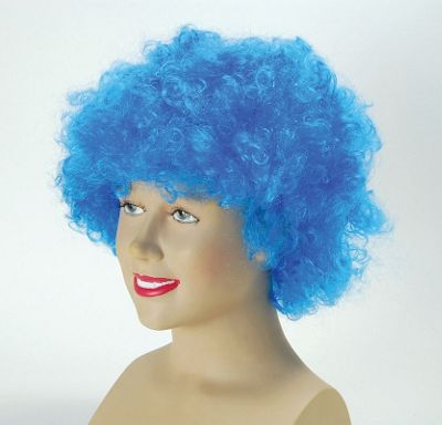 Bristol Novelty - Afro Wig - Blue